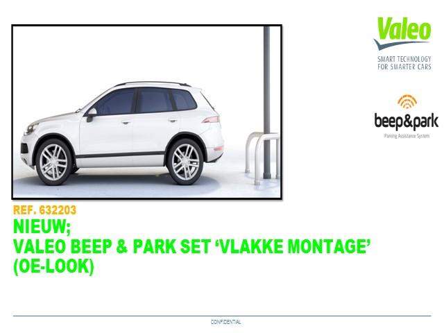 Beep & Park Flush mount kit NL feb 2019