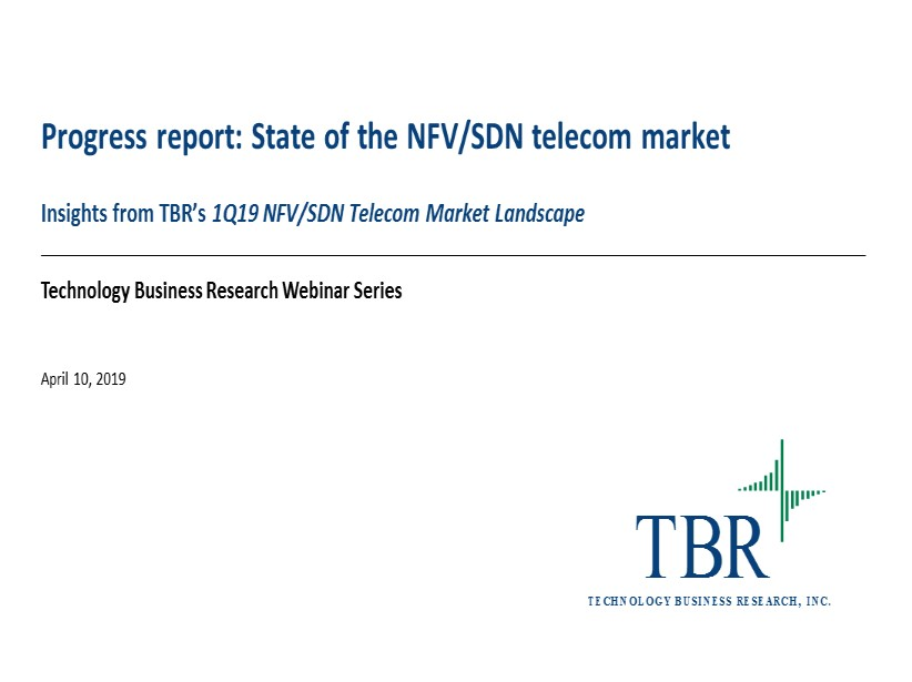 Progress report: State of the NFV/SDN telecom market
