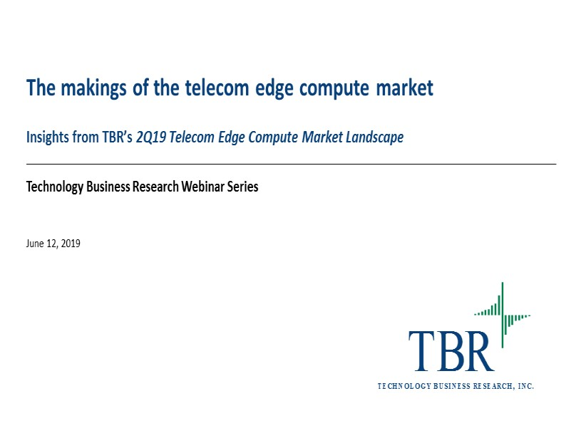 The makings of the telecom edge compute market