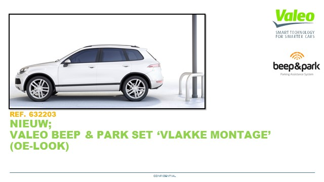 Beep & Park Flush mount kit NL 26 Feb 2019