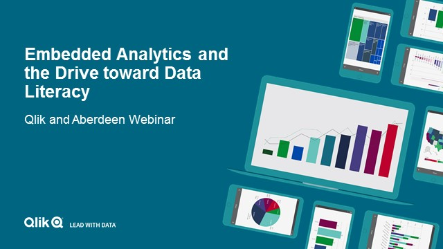 Embedded Analytics and the Drive toward Data Literacy