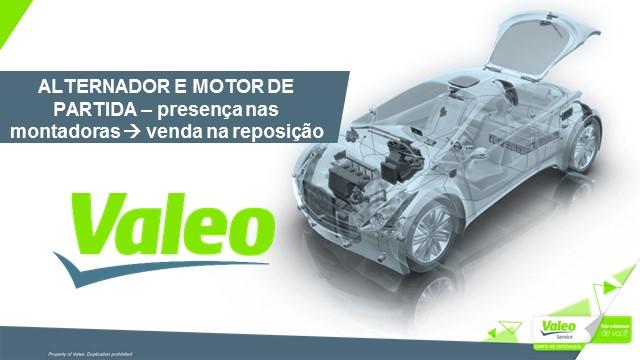 Alternador e Motor de Partida - Presença nas Montadoras, venda na Reposição
