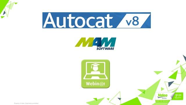 Valeo AutoCat+ Training Webinar