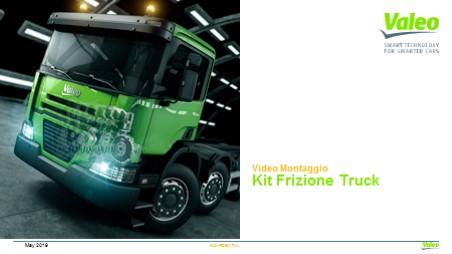 Video Montaggio Kit Frizione Truck