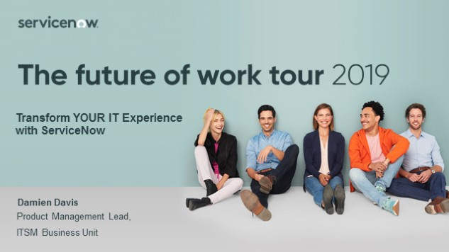 Transform the IT Experience with ServiceNow