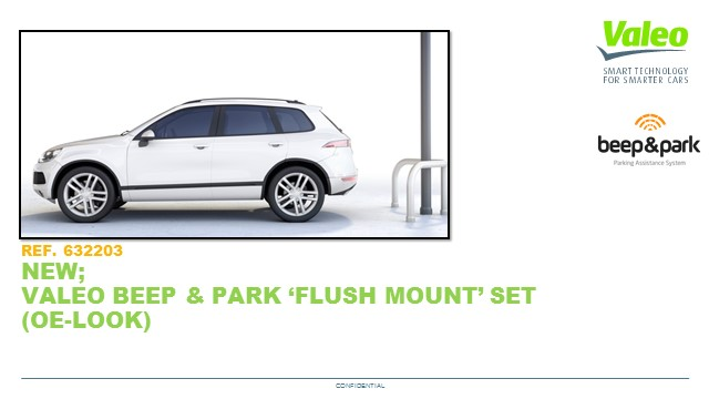 Beep & Park Flush mount kit ENG 28 Mar 2019