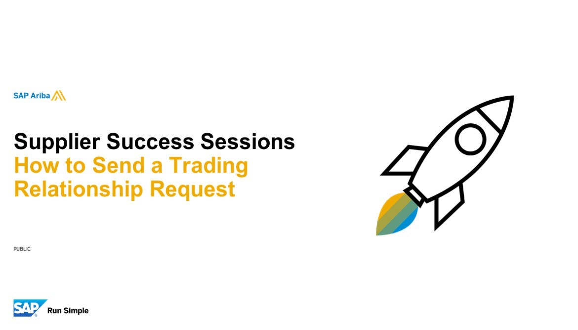 Quick Tip: How to Send a Trading Relationship Request