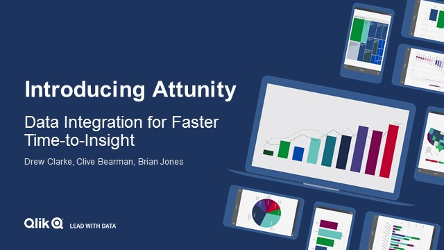 Introducing Attunity: Data Integration for Faster Time-to-Insight