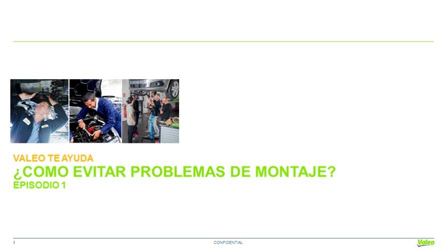 ¿Cómo hacerlo? Consejos técnicos de montaje: Valeo Service Argentina