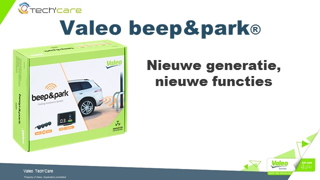 Beep&Park New Gen Differences NL - 29.05.2019