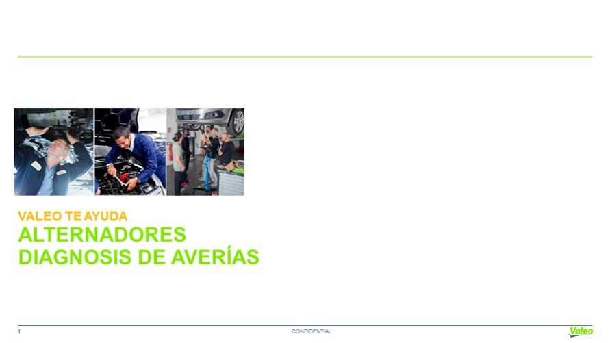 Averias y Diagnosis en Alternadores : Valeo Service Argentina