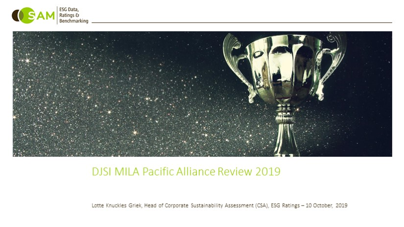 DJSI MILA 2019 - Webinar exclusiva DJSI MILA Pacific Alliance