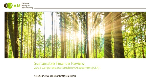 DJSI 2019 - Sustainable Finance.