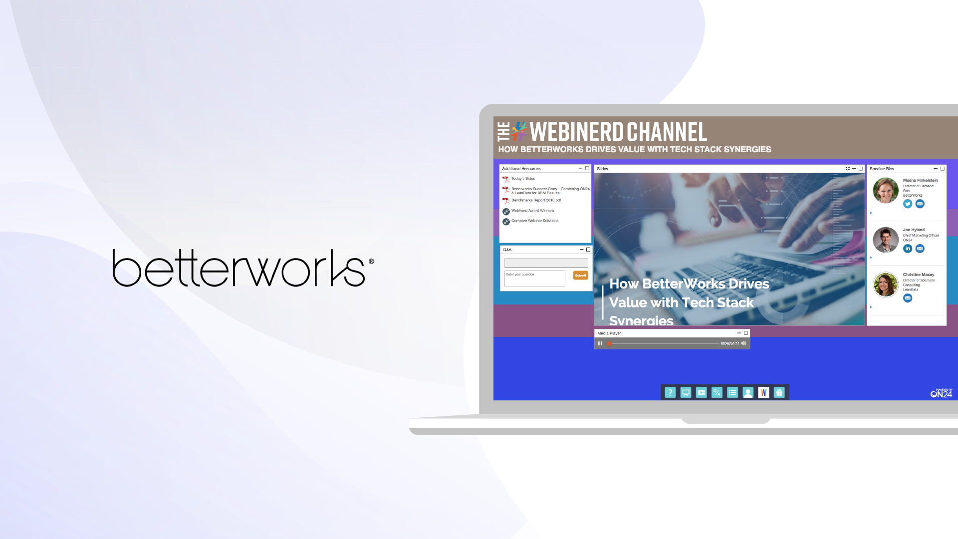 a3af4cb999 The #Webinerd Channel: How BetterWorks Drives Value with Tech Stack Synergy