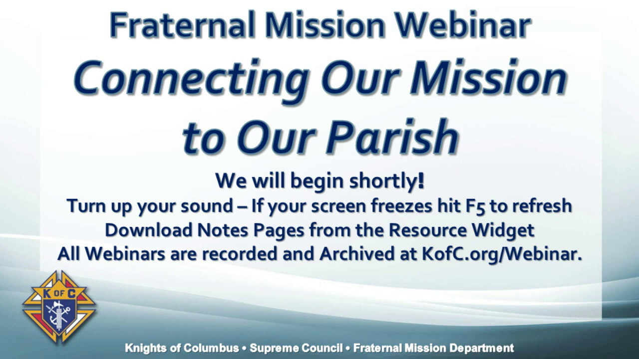 Connecting our Mission to our Parish
