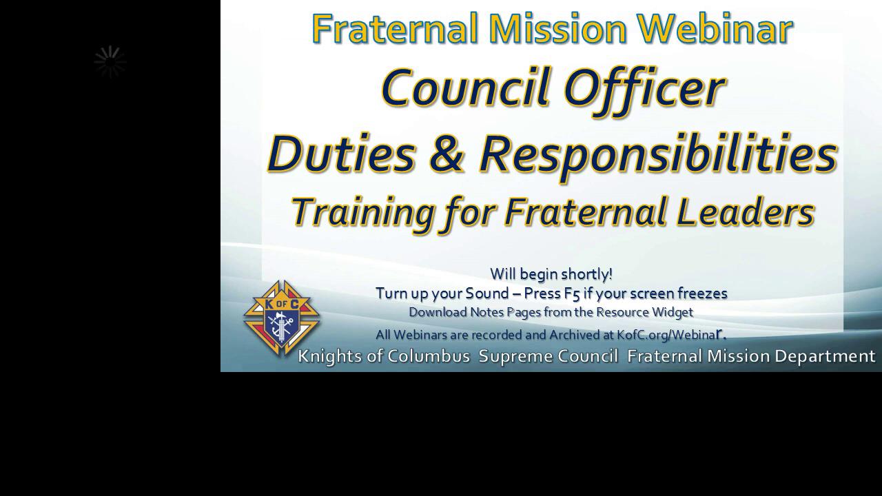 Council Officer Duties Quick Start Training