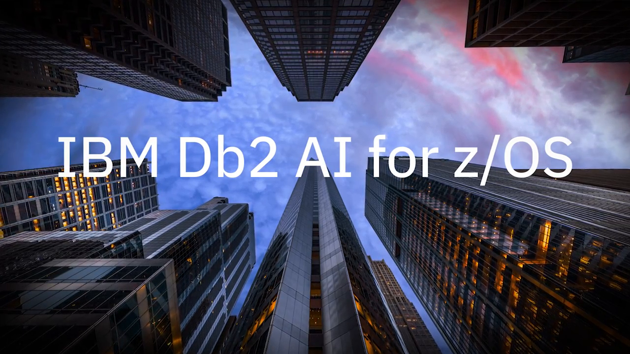 IBM Db2 AI for zOS - Better Smarter Faster