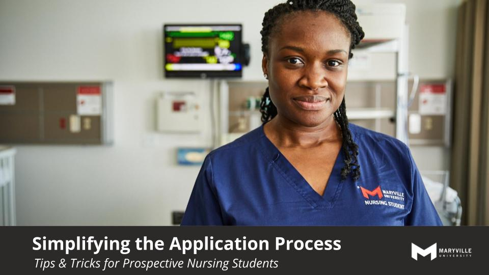 Webinar | Maryville University | Simplify the Application Process July 2019
