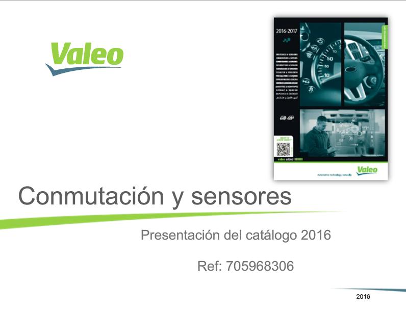 Catálogo Sensores y Conmutadores 2016/2017: Novedades