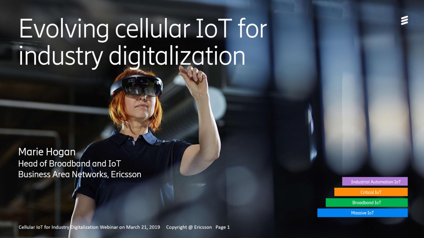 Evolving Cellular IoT for Industry Digitalization