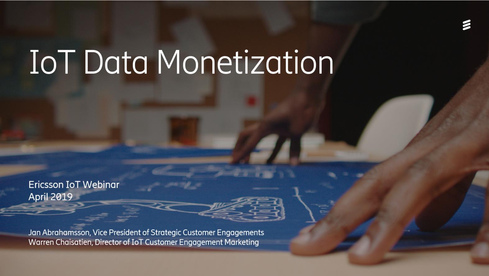 IoT Data Monetization