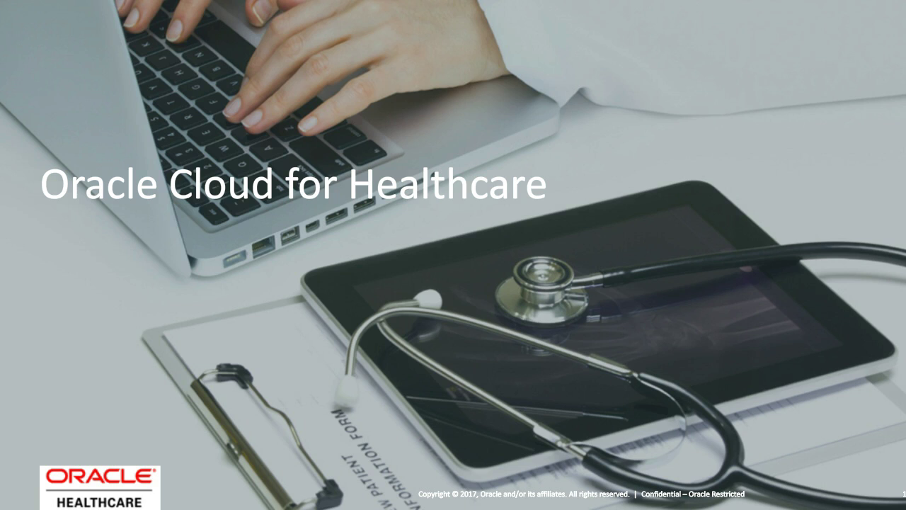 Oracle ERP Cloud for Healthcare Providers