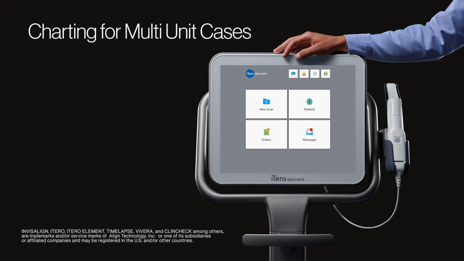 1:22 minutes:  Charting for Multi-Unit Cases