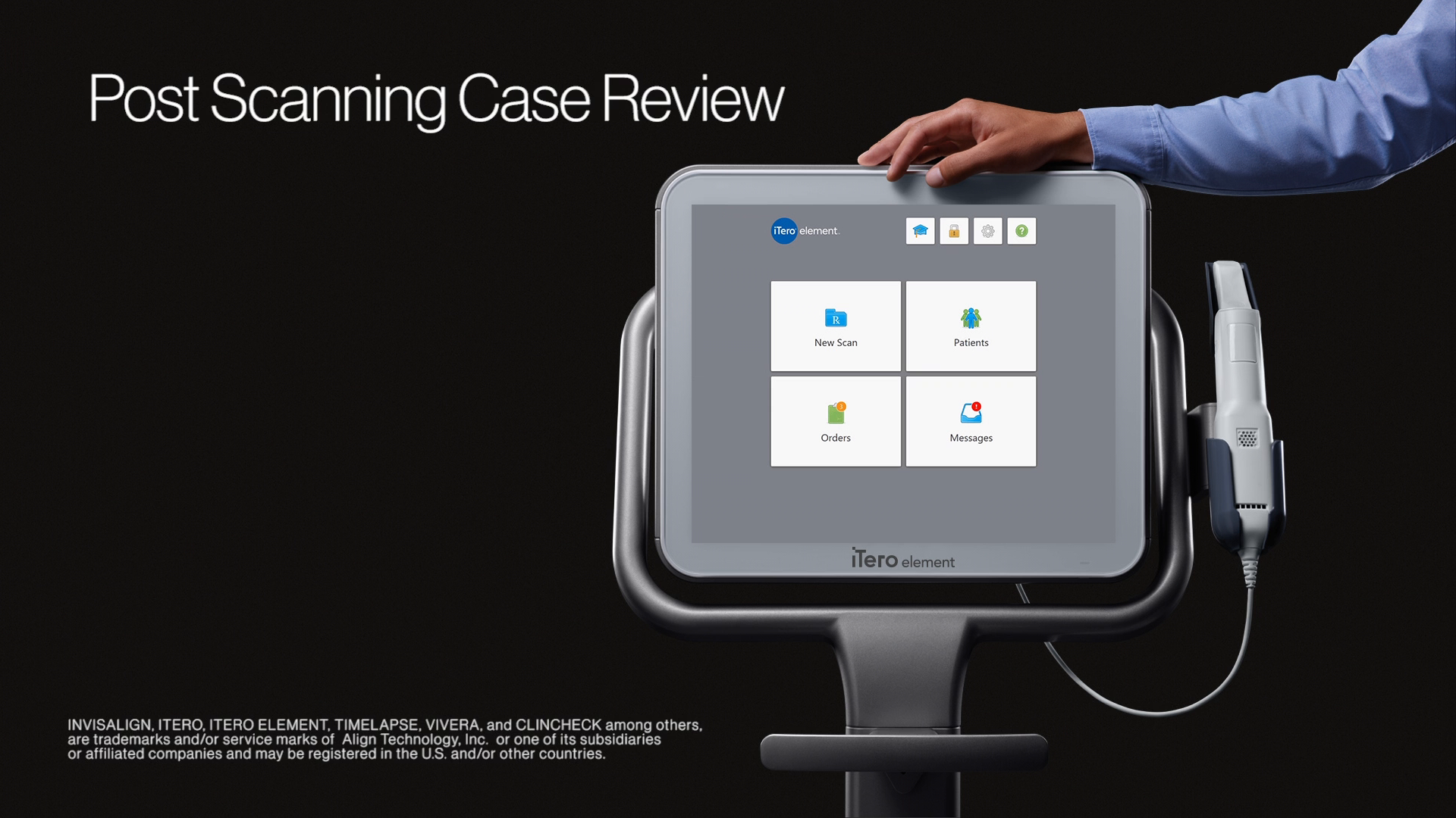 1:24 minutes:   Post-scanning case review