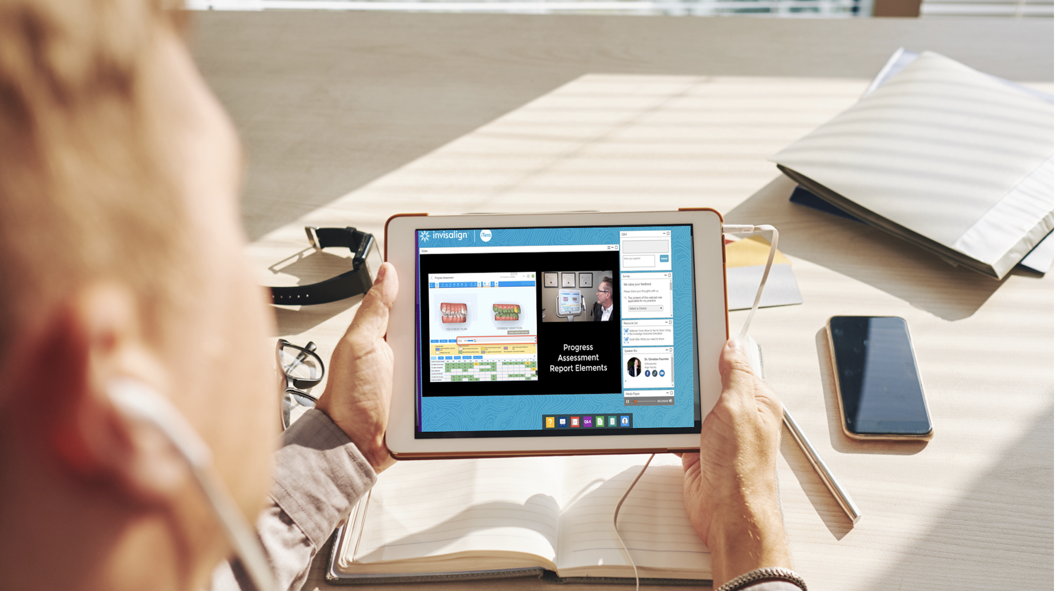 Live and on-demand webinars by the Clinical Experts.