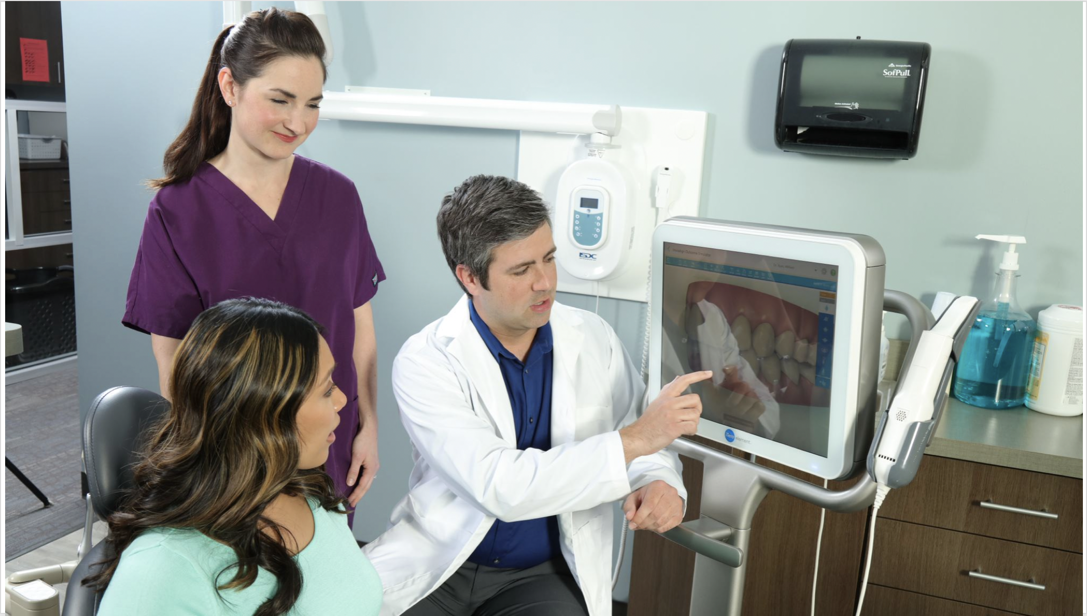 We are a General Practice, scanning restorative and orthodontic cases.