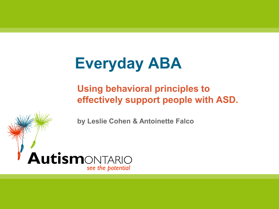 Everyday ABA - Slides