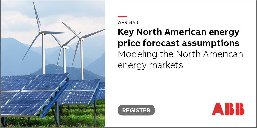 Key energy market assumptions, North America, Spring 2019