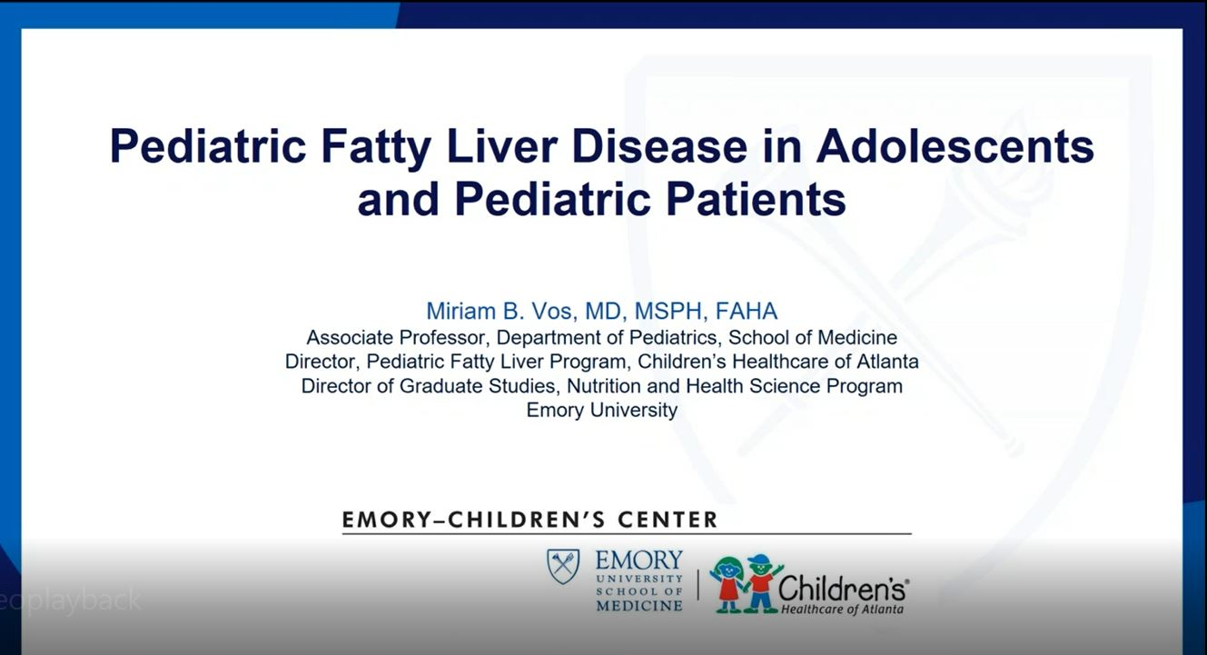 Fatty Liver Disease in Pediatric Patients
