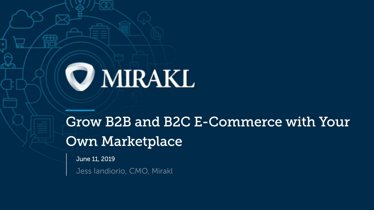 Grow B2B and B2C E-Commerce with Your Own Marketplace