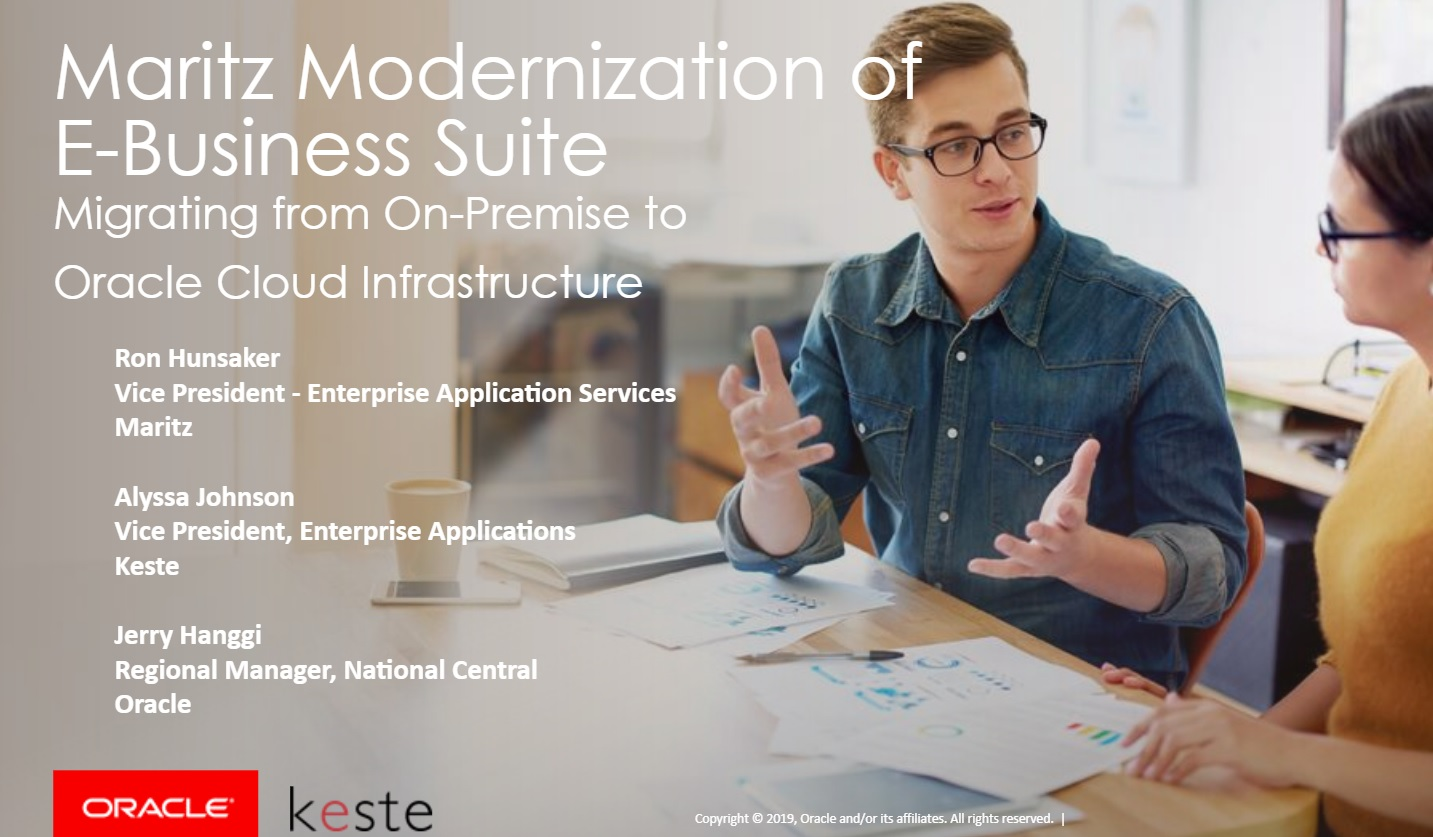 Modernization of Oracle EBS - Webinar