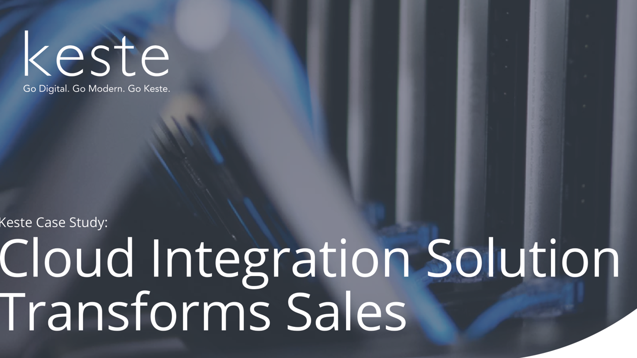 Case Study : Cloud Integration Transforms Sales Practices