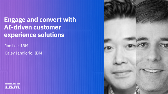 Engage and convert more with AI driven customer experience solutions