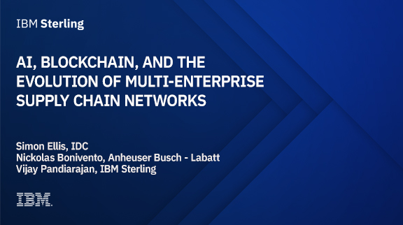 AI, Blockchain, and the Evolution of Multi-Enterprise Supply Chain Networks