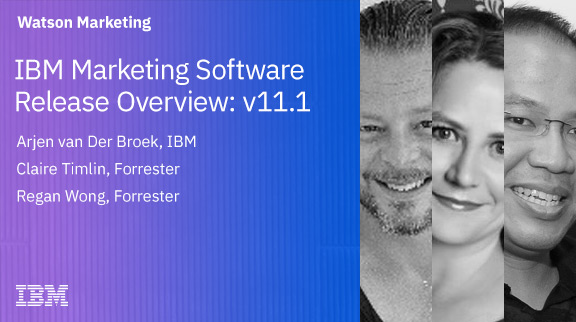 IBM Marketing Software Release Overview: v11.1