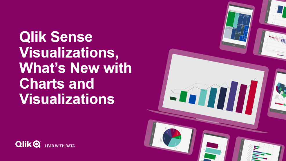 Qlik Sense Visualizations, What's new with Charts and Visualizations